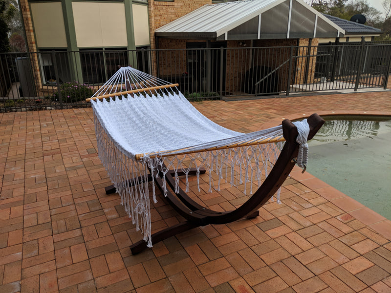 Poolside Hammock and Stand
