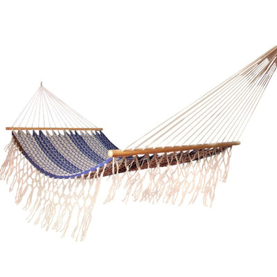 Resort hammock Mexican - Blue and White