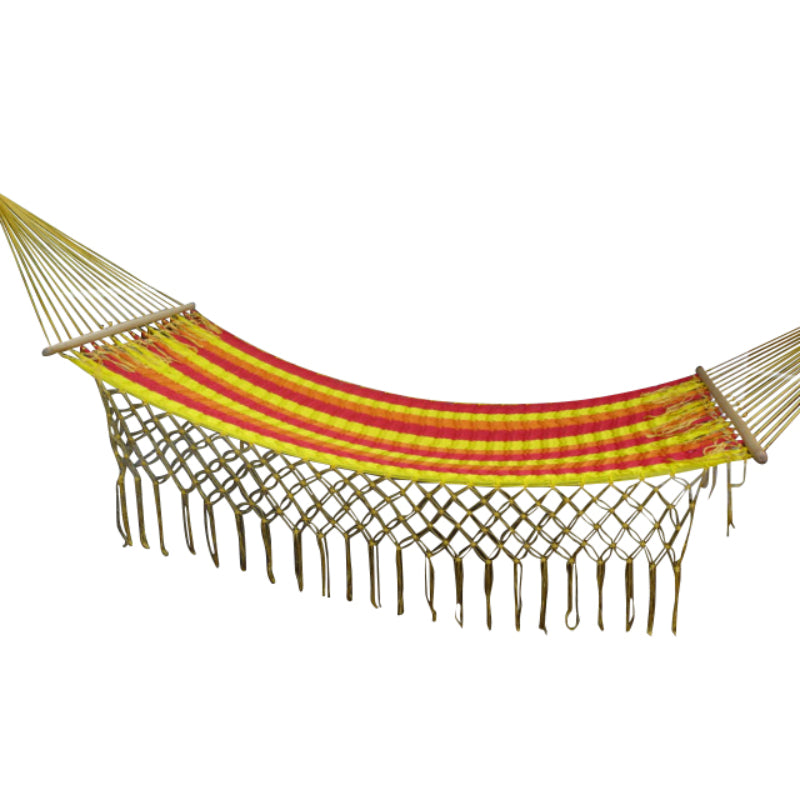 Spreader Bar Hammock - Tequila Sunrise Colour