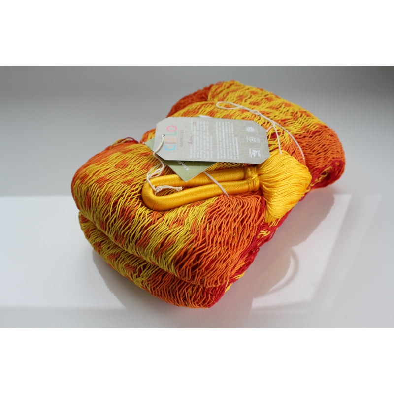 Tequila Sunrise Coloured Cotton Hammock