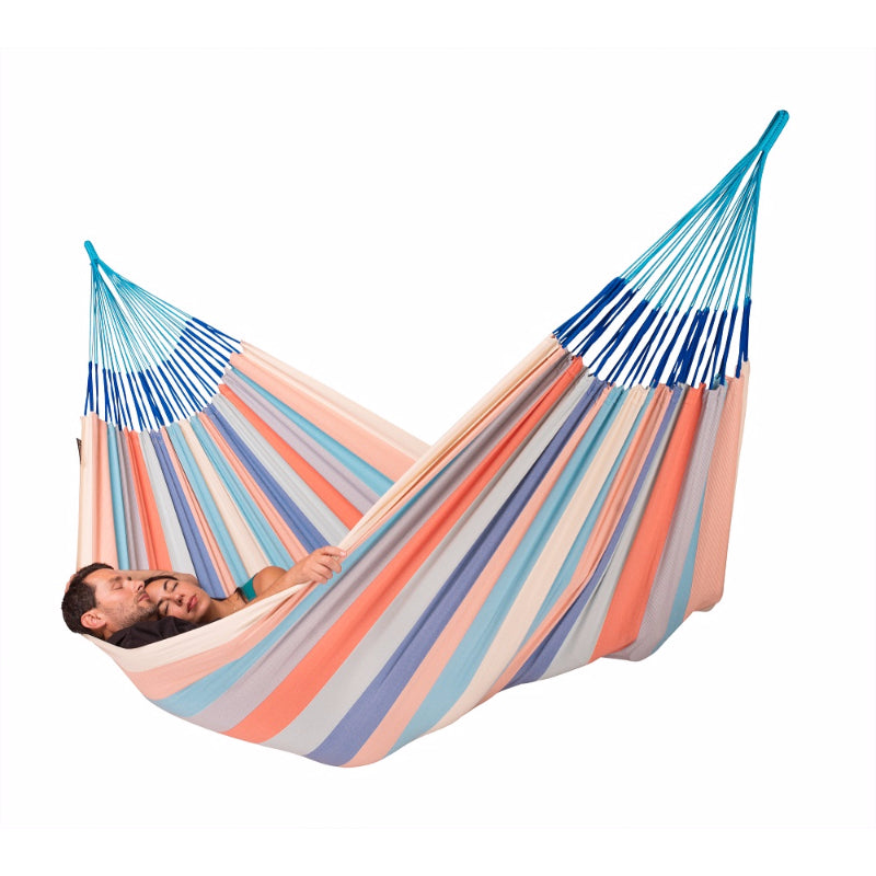 Two people in hammock