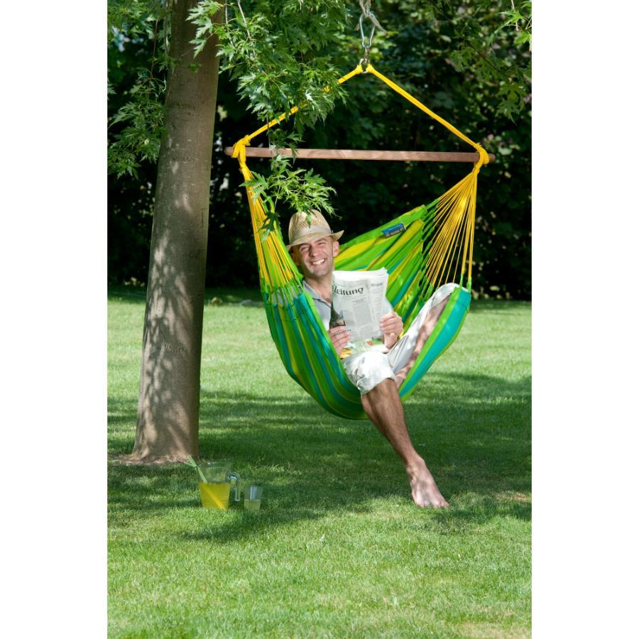 Single chair hammock - lime