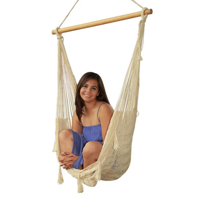 Mexican nylon hammock chair