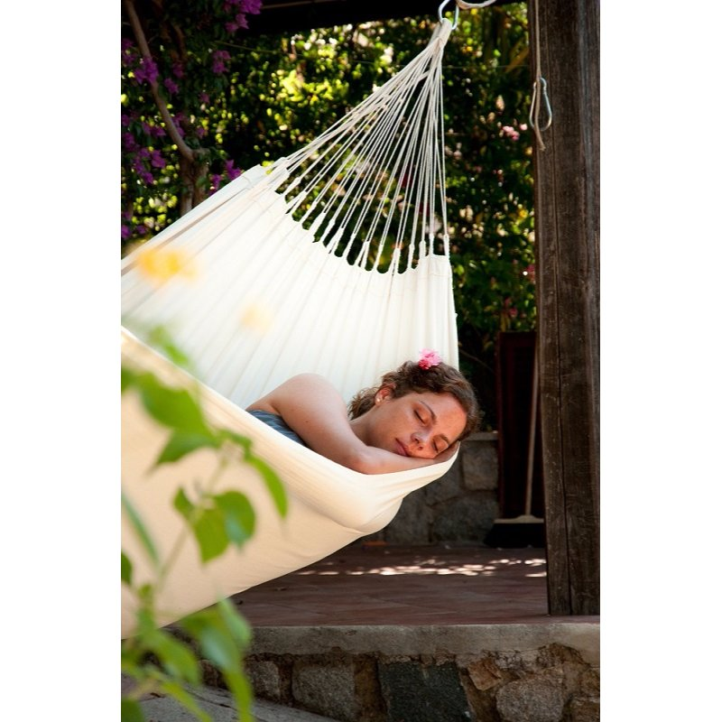 Hammock - white - organic cotton