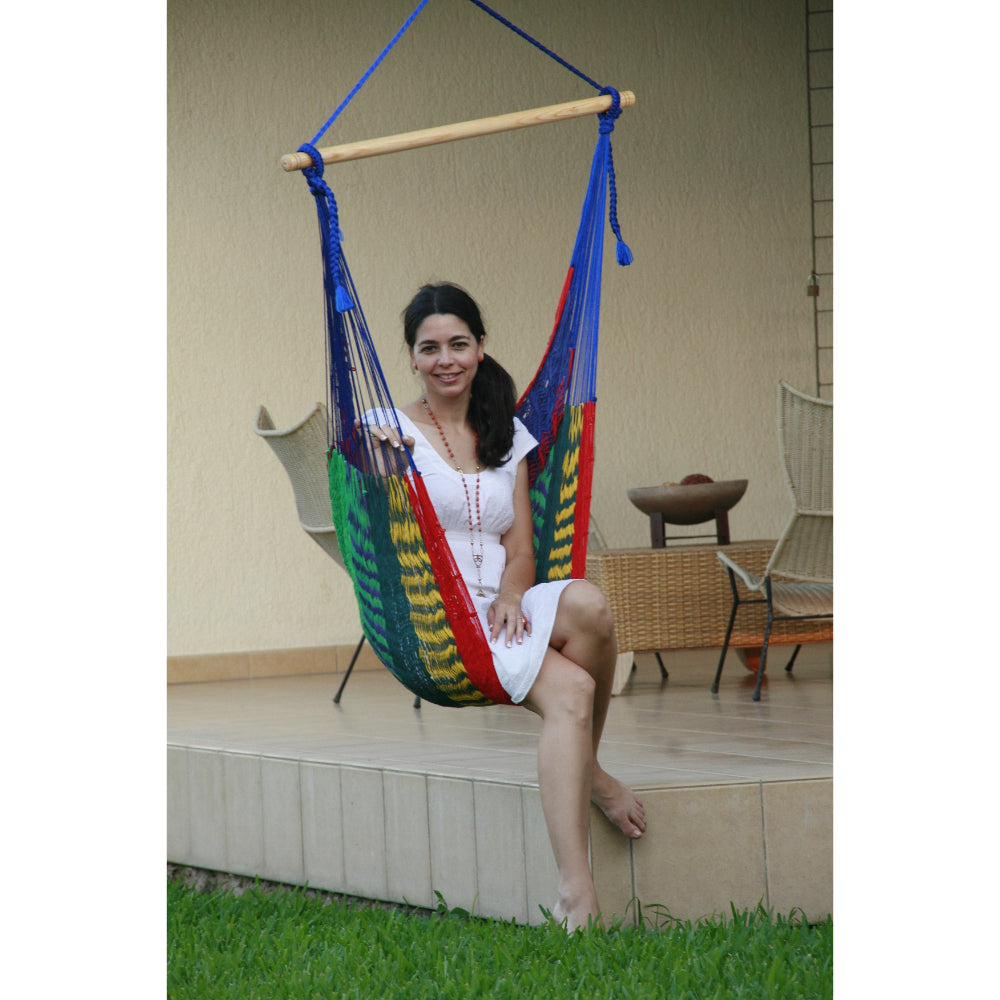 Mexican Chair Hammock - Multi-colour