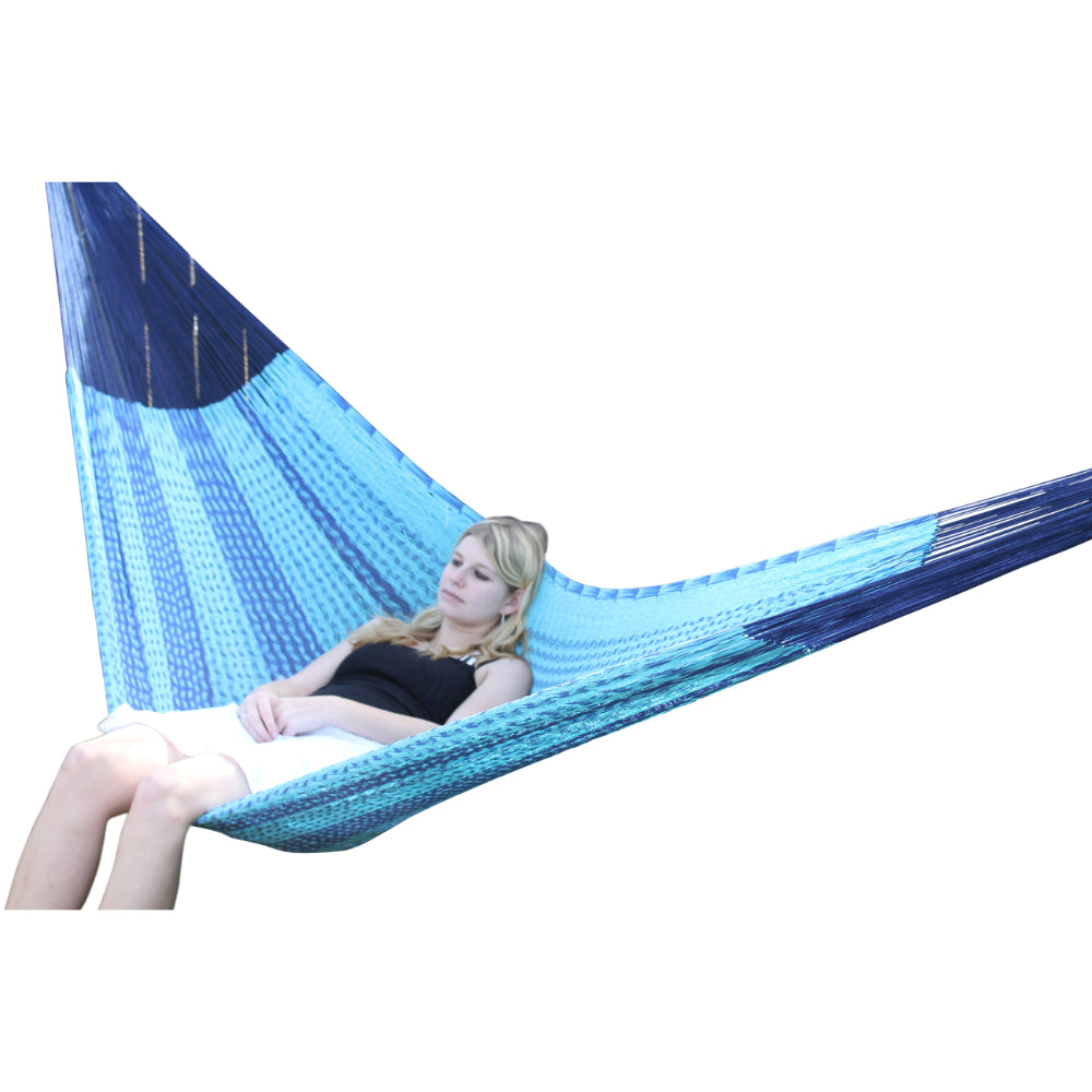Blue and blue hammock