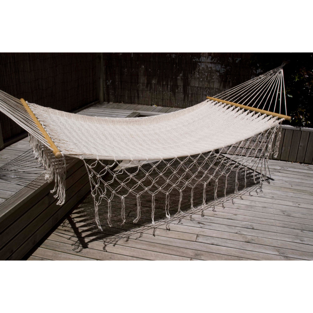 White Mexican bar hammock