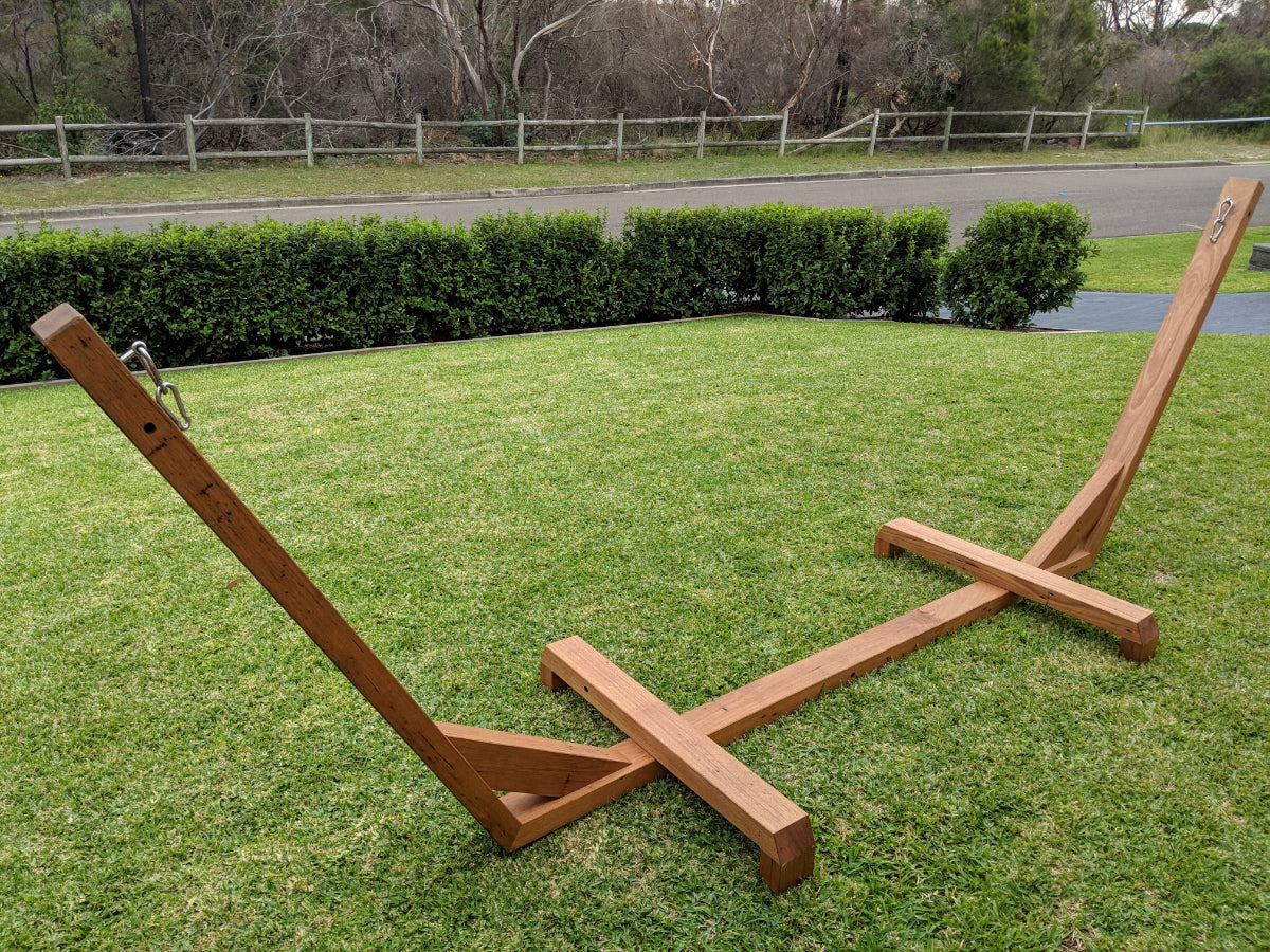 Australia Made Timber Hammock Stand