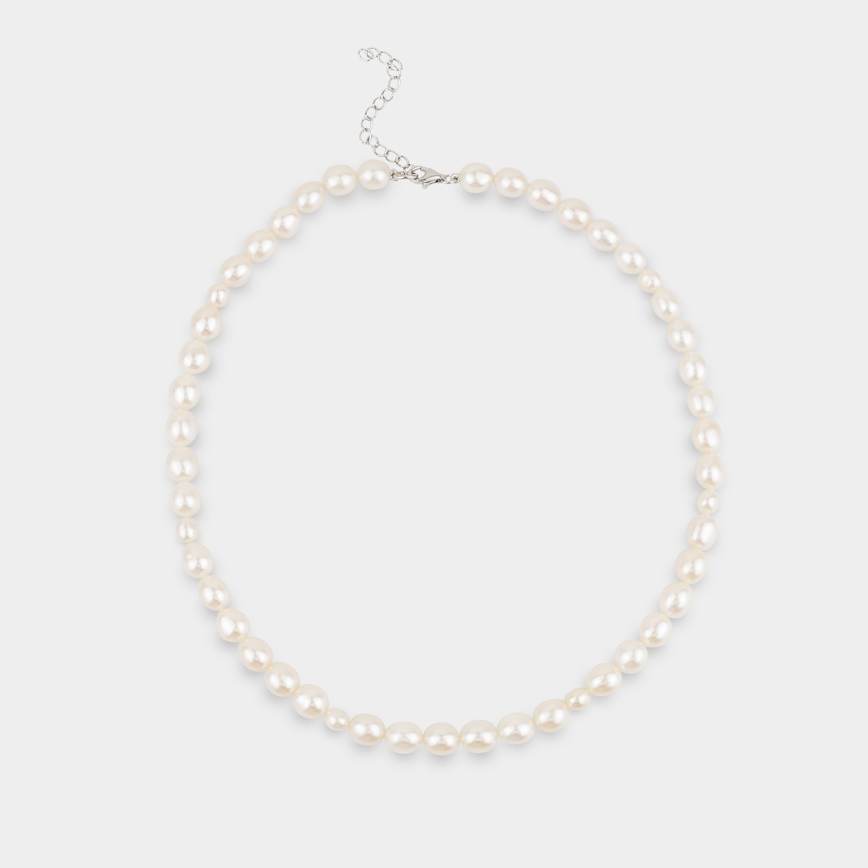 THE OVAL-PEARLS NECKLACE