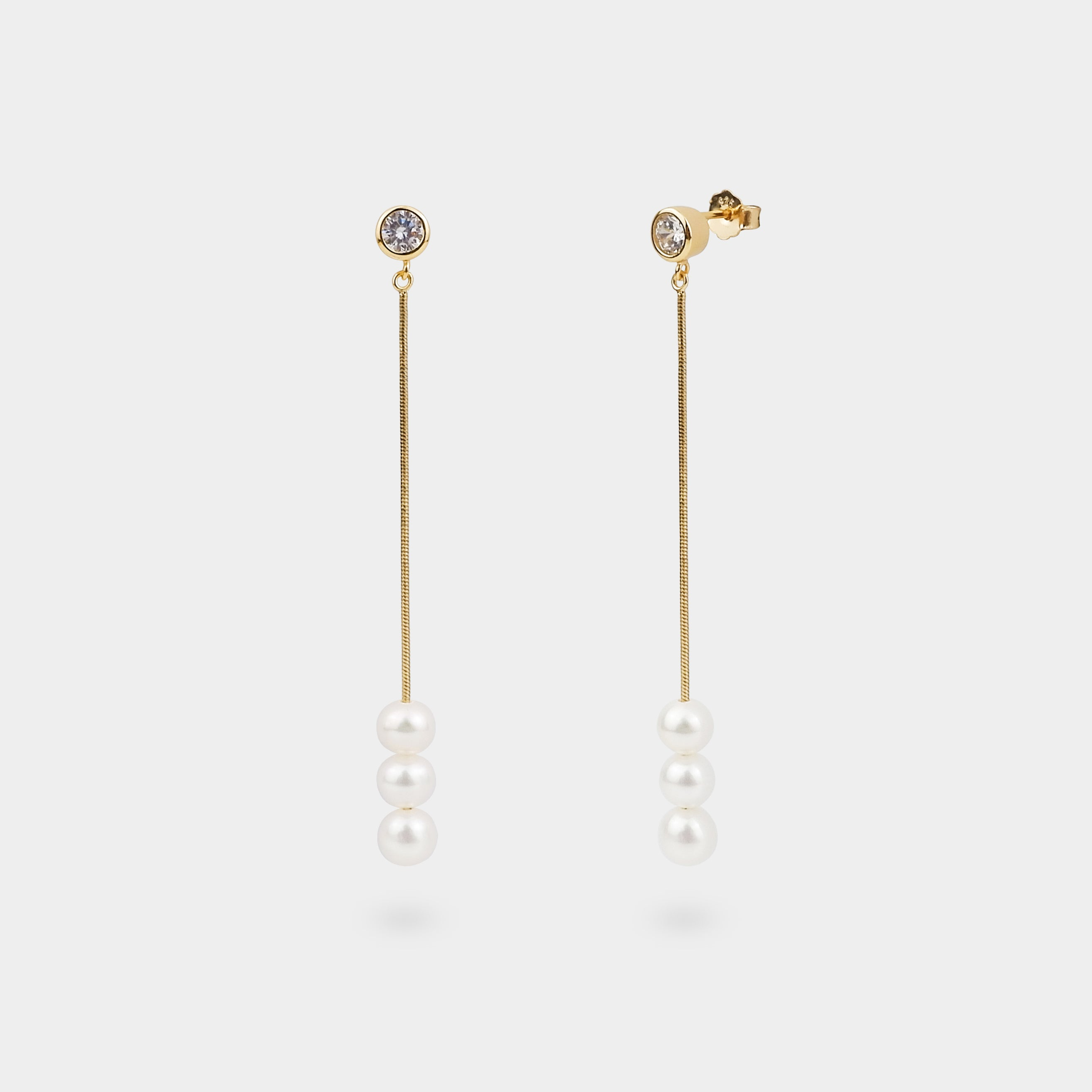 ORBS PEARL EARRINGS