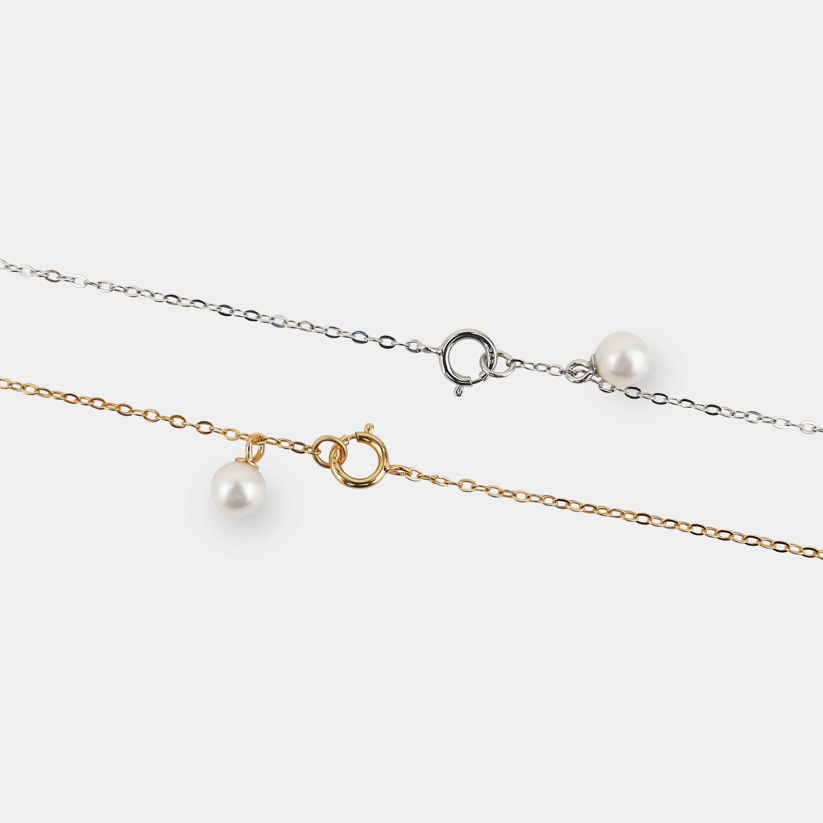 RAIN DROP PEARL NECKLACE