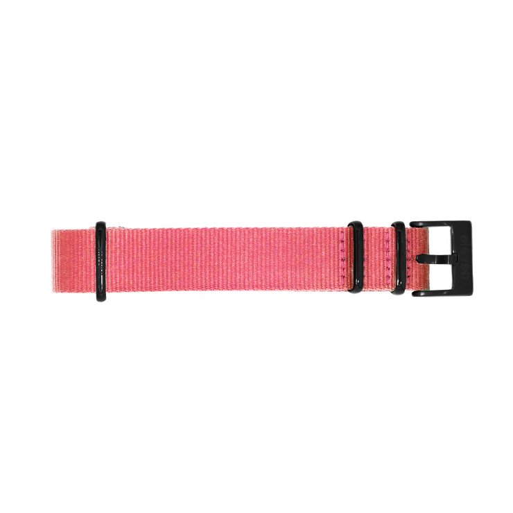 11 Band - Black/Pink Nylon