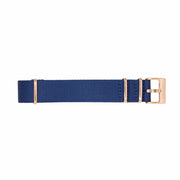 11 Band - Gold/Blue Nylon