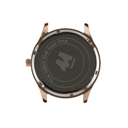 11 Watch - Gold/Brown Nylon