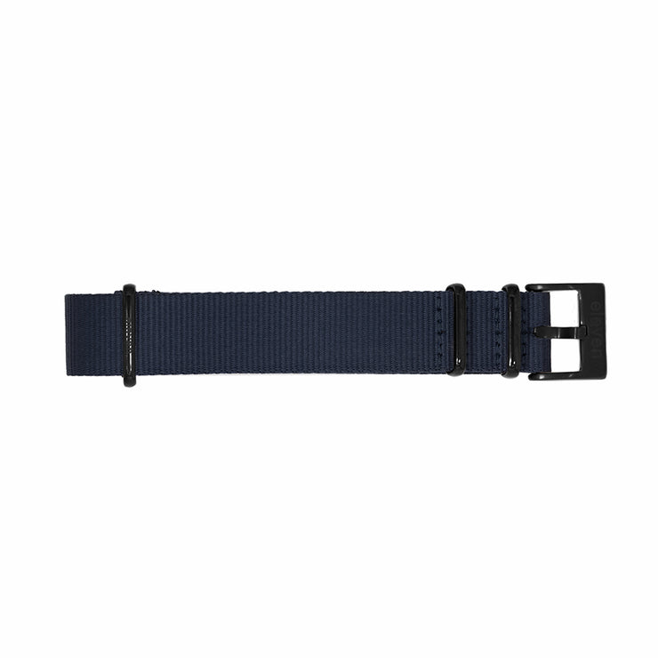 11 Band - Black/Navy Nylon