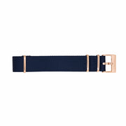 11 Band - Gold/Navy Nylon