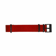 11 Band - Black/Red Nylon
