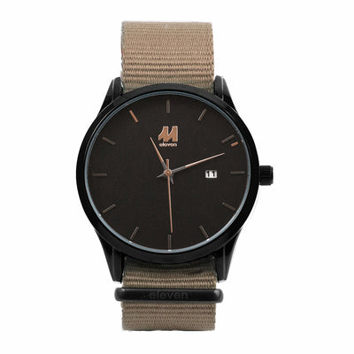 11 Watch - Black/Sand Nylon