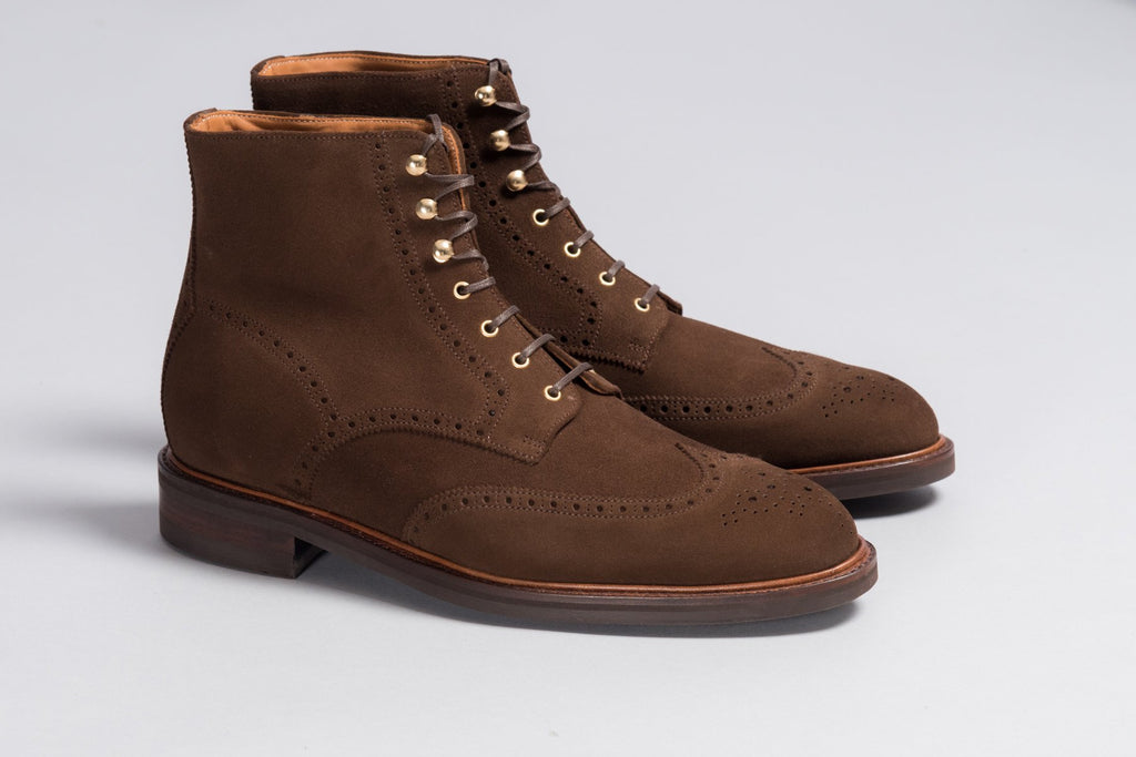 Löf & Tung Adams Brown Suede