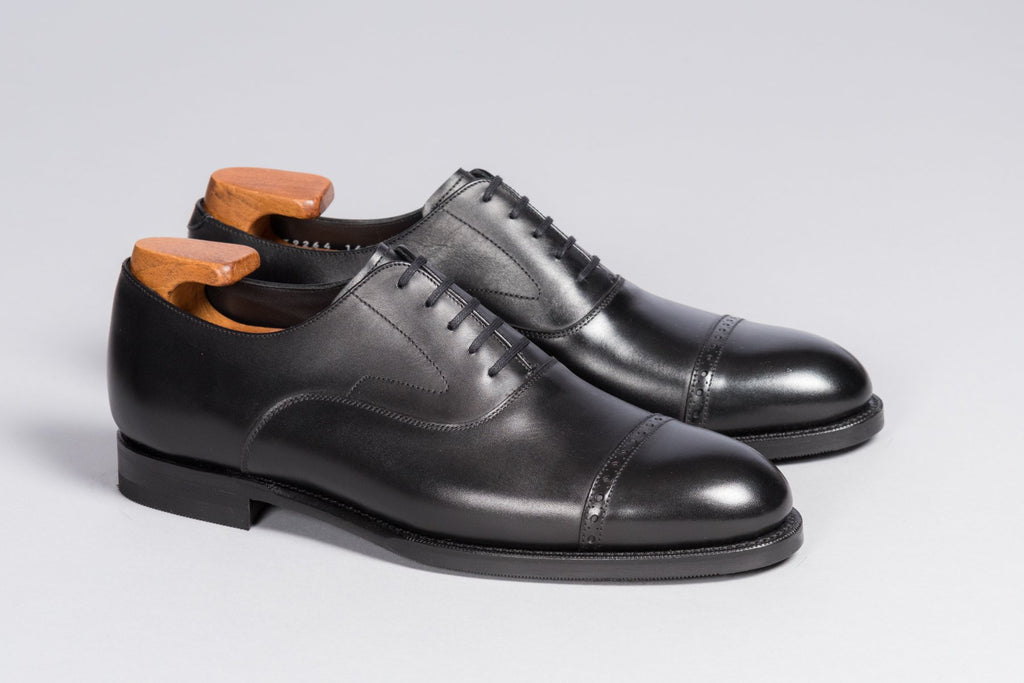 Löf & Tung Bingham Black Calf (Rubber Sole)