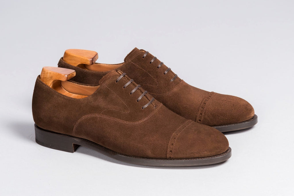 Löf & Tung Bingham Brown Suede (Rubber Sole Version)