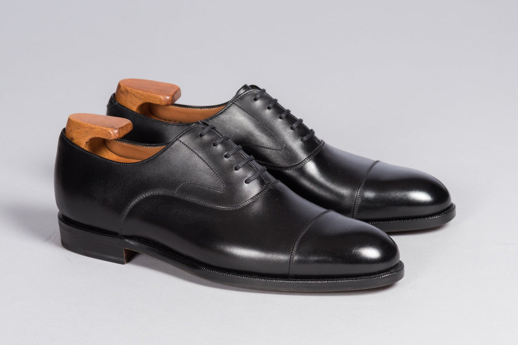 Löf & Tung Gilbert Black Calf (Leather Sole)