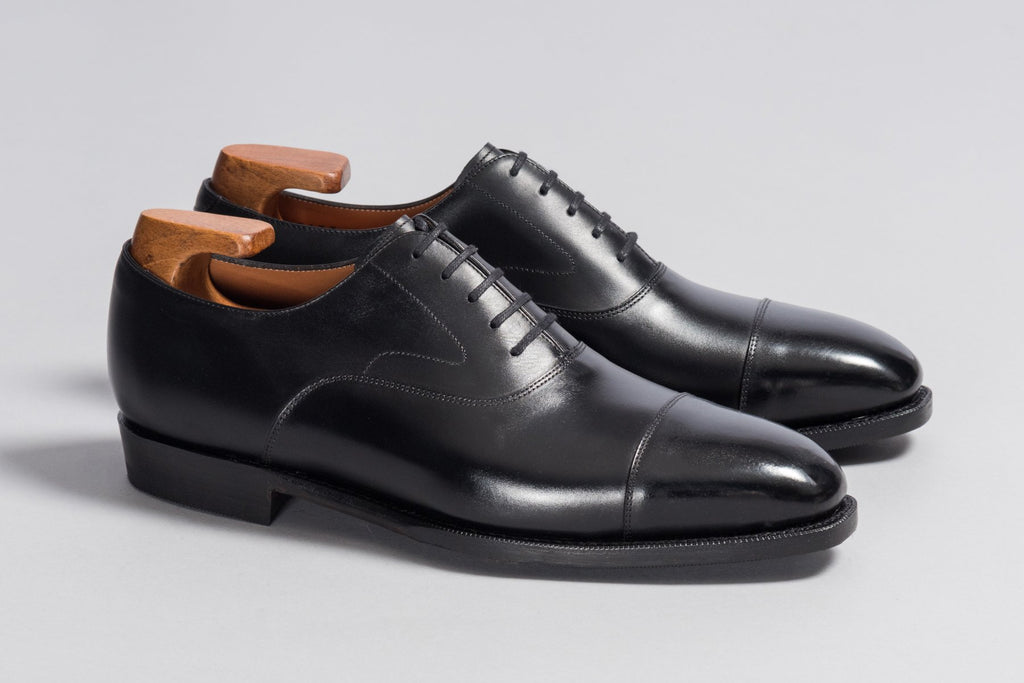 Löf & Tung Gilbert Black Calf (Rubber Sole)