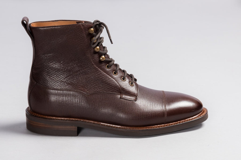 Löf & Tung Kingsley Dark Brown Utah Calf