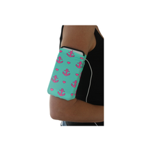 Pink Anchors Cell Phone Armband