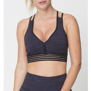 Purple Action Sports Bra