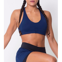 Navy Lightweight Sports Bra