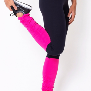 Pink Legwarmer Leggings