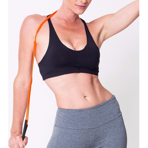 Black Lightweight Sports Bra