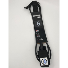 6-Foot Surfing Leash for Surfboard, Paddleboard, SUP