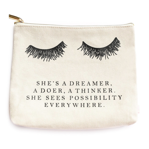 Eyelash Dreamer Cosmetic Bag