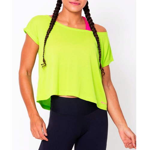 Lime Drop Tail Hem Tee