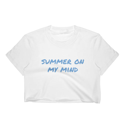 Summer On My Mind Crop Top