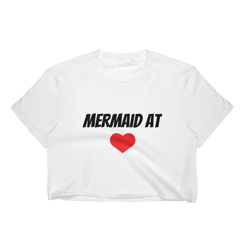 Mermaid At Heart Crop Top