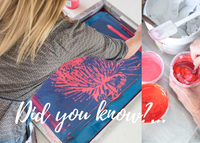 Did You Know?! ...Ink. Come in behind the scenes in my studio