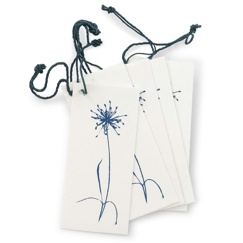 'Bloom' Blue Gift Tags