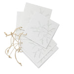 'Leaf' Silver Gift Tags
