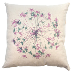 Pink and Grey 'Bloom' 45cm Cushion