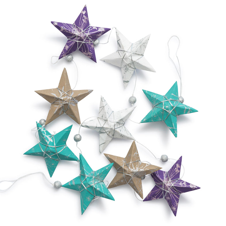 Ellume Life star garland Ocean colours