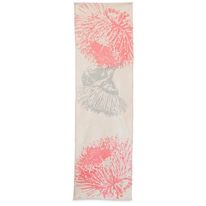 Table Runner 'Mallee' in Pink & Grey
