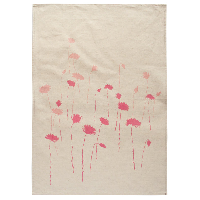 Tea Towel - Everlasting Pink