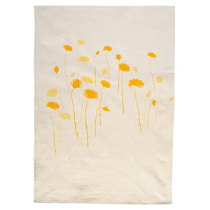 Tea Towel - Everlasting Yellow