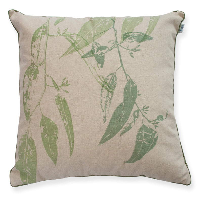 Cushion 'Jarrah Leaf' Green 45cm