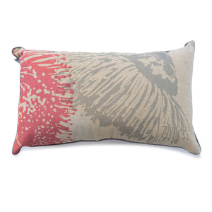 Cushion 'Mallee' in Pink & Grey 30 x 50