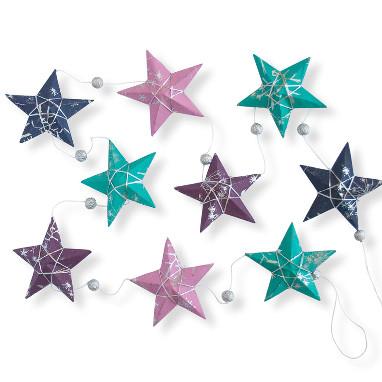Jewel Star Garland Large