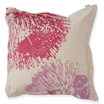 Cushion 'Mallee' in Fuschia & Lilac 50cm